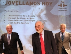 Juan Pedro Aparicio presents 'Nuestros hijos volarán con el siglo' (Our Sons Will Fly with the Century) in Madrid's Instituto Cervantes