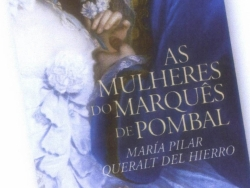 María Pilar Queralt publishes in Portuguese 'As Mulheres do Marquês de Pombal'
