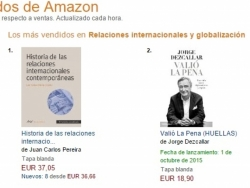 Valió la pena [It was worth the bother], by Jorge Dezcállar, bestseller before publication
